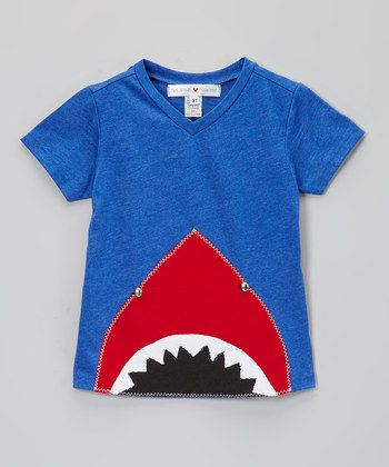 Shark bite....Super cute, easy to diy with simple appliqué for girl or boy.