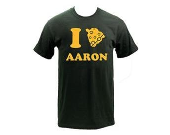 I *cheese heart* Aaron Rodgers! #packers #wisconsin #greenbay