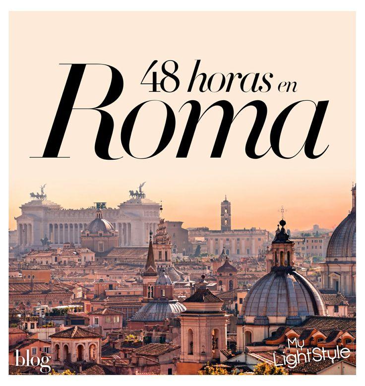 48 horas en Roma. http://www.harpersbazaar.es/blogs/my-lightstyle/48-horas-en-roma
