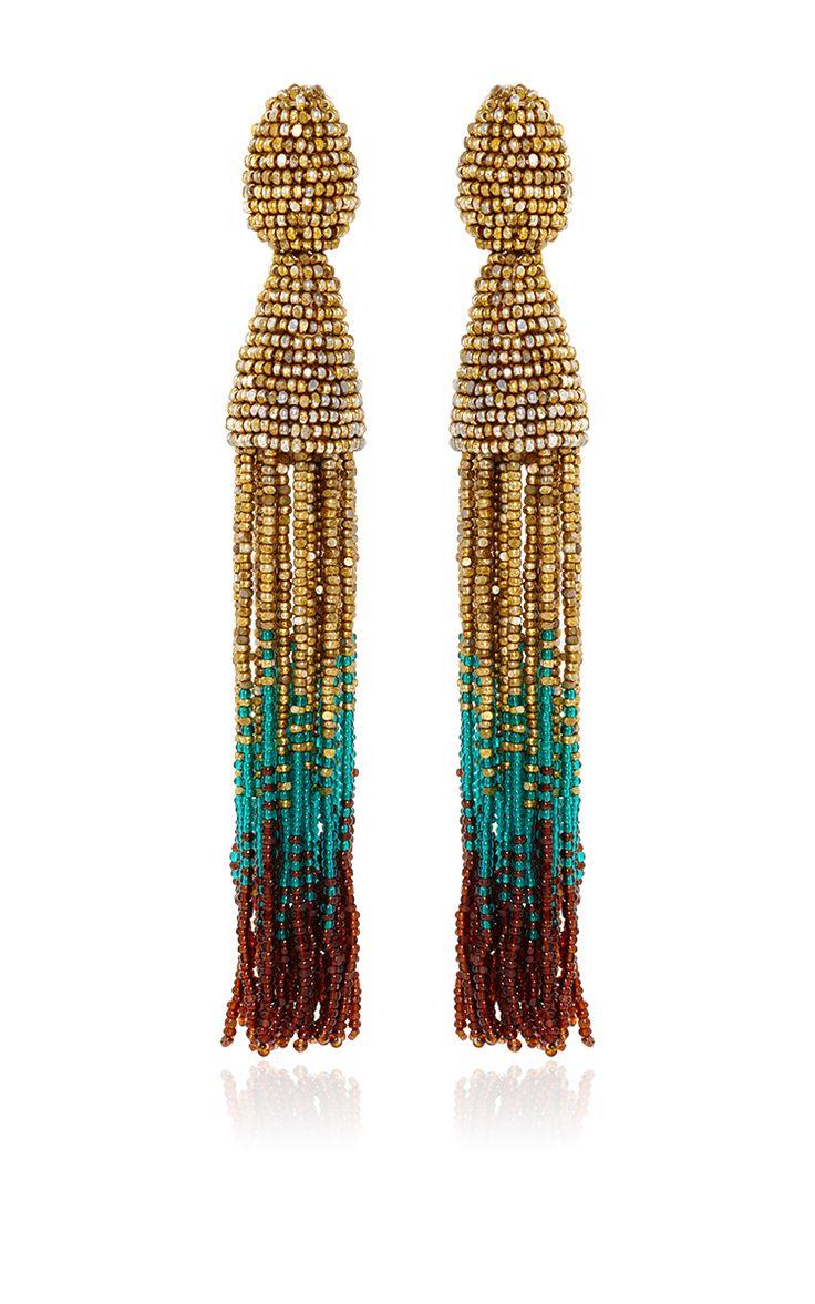 best 25+ beaded tassel earrings ideas on pinterest   tassels