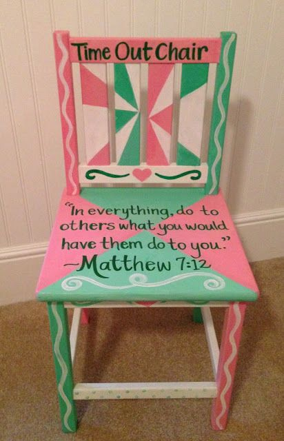 Good Girl Time Out Chairs Baby Stuff Pinterest Love This Love The And Christ
