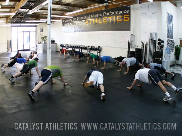Catalyst Athletics: Our Warm-up is a Warm-up. Ask yourself: What is the purpose of this? If you can't answer these questions, seek out advice from someone more experienced.