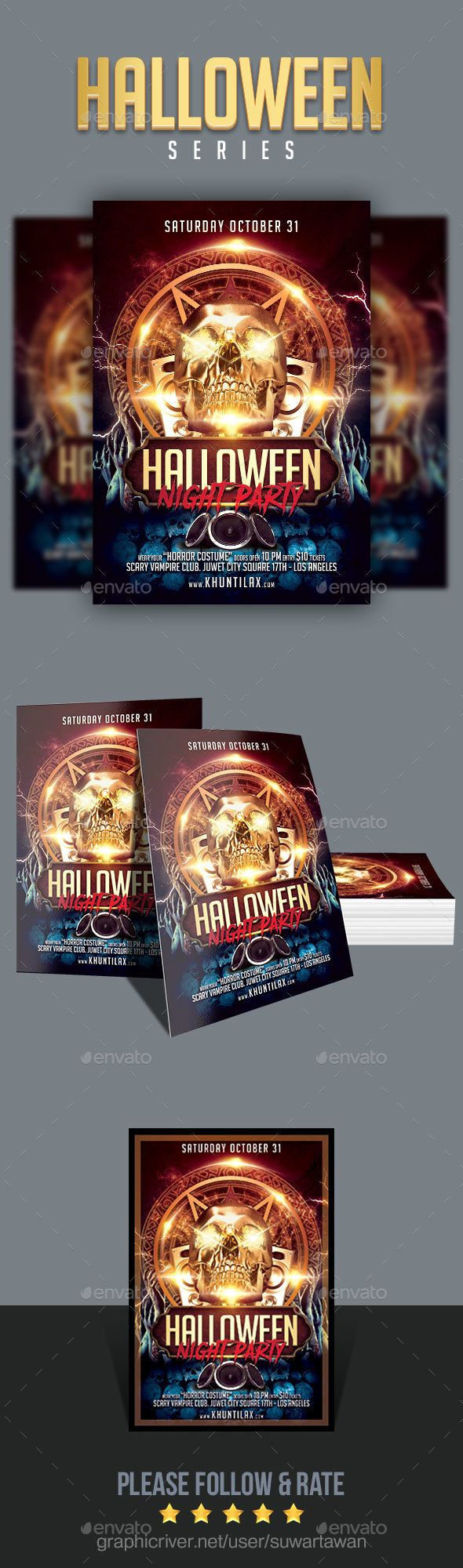 Halloween Night Party - Clubs & Parties Events