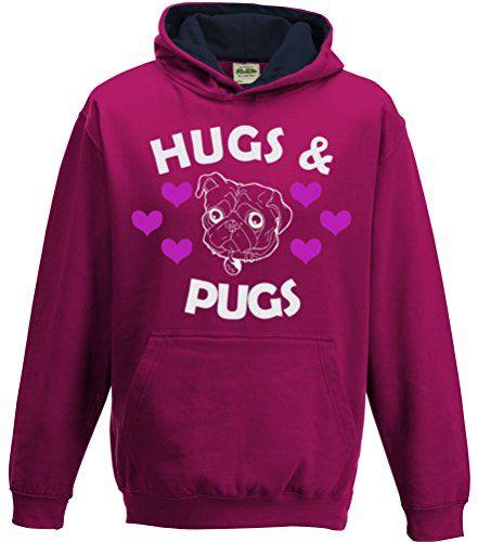 TWO TONE Hot Pink/Navy Hoodie 'HUGS & PUGS' Edward Sinclair http://www.amazon.co.uk/dp/B00NXSABHI/ref=cm_sw_r_pi_dp_417Kvb1G848DG