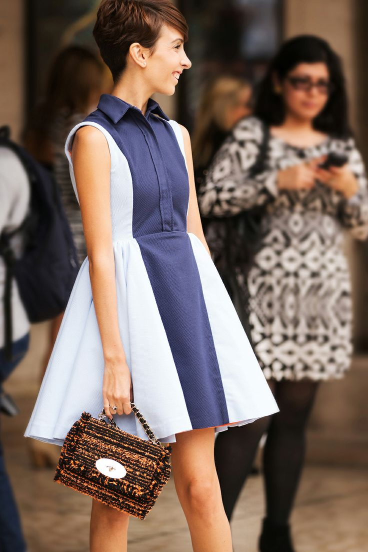 New York Fashion Week Street Style Spring 2014
