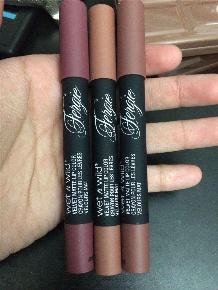 Wet N Wild Velvet Matte Lip Color in Timeless Chick, Trendscendence, & Plumgenue