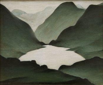 Welsh Lake LS Lowry1947