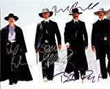 #8: The Movie Tombstone Cast Signed Autographed 8 X 10 Reprint Photo  Mint Condition