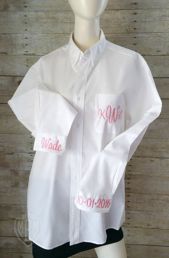 Monogrammed Bridal Shirt  Bride Get Ready by MaBrownMercantile