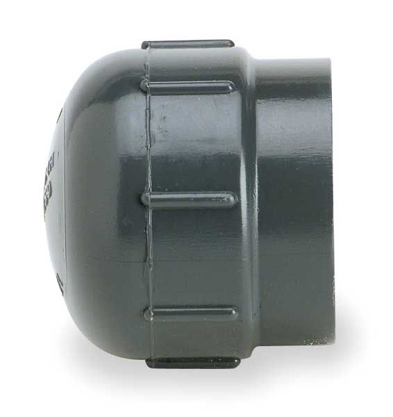Schedule 80 PVC Cap by GF PIPING SYSTEMS - PVC and CPVC Pipe Fittings at Zoro