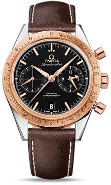 Omega Speedmaster 57 Omega Co-Axial Chronograph Titanium