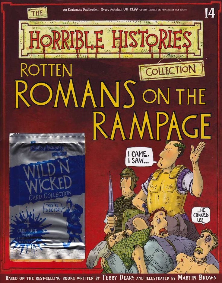 Rotten Romans on the Rampage from Horrible Histories Magazine FREE online
