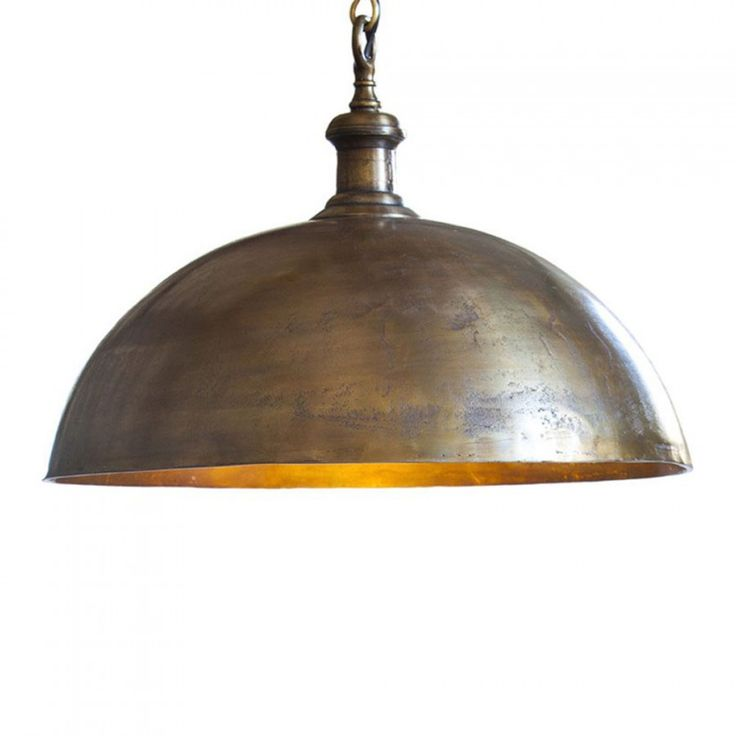 Vintage Pendant Ceiling Light 1800s Style Antique Brass from Litecraft