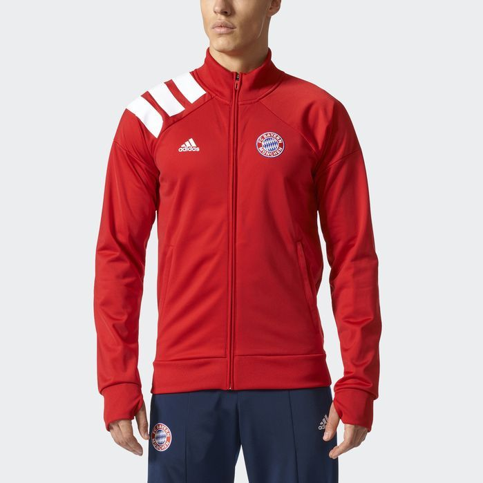 adidas FC Bayern Munich Track Jacket - Mens Soccer Jackets
