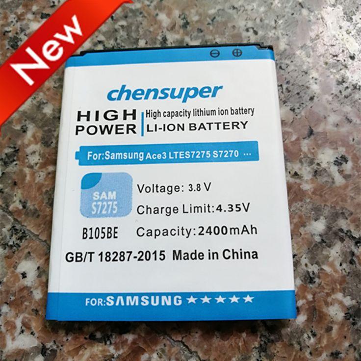 NEW B105BE B105BU for Samsung Galaxy Ace 3 LTE GT-S7275 Galaxy Light SGH-T399 2400mAh #Affiliate