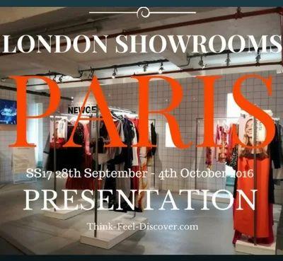 LONDON show ROOMS PARIS SS17 : 28th September - 4th October 2016 PRESENTATION