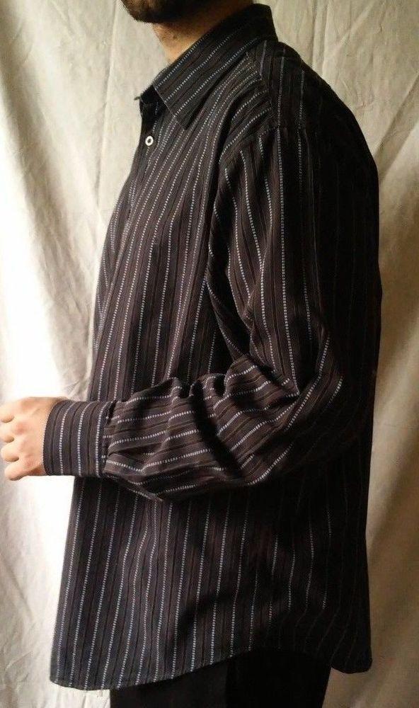 #twitter#tumbrl#instagram#avito#ebay#yandex#facebook #whatsapp#google#fashion#icq#skype#dailymail#avito.ru#nytimes #i_love_ny #cnn # BBCBreaking #  BBCWorld #  cnnbrk # nytimes # globaltimesnews #     Yves Saint Laurent Black Striped Long Sleeve Button Down Casual Shirt Size XL #YvesSaintLaurent #ButtonFront