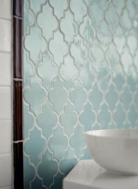 blue tile: Interior, Idea, Color, Blue Tile, Kitchen, Tile Bathroom, Moroccan Tiles, Beautiful Tile, Bathroom Tile