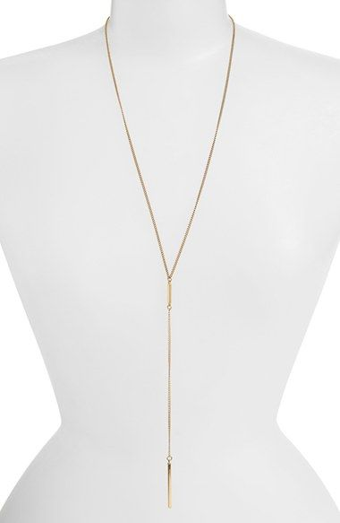 Free shipping and returns on BP. Bar Lariat Necklace at Nordstrom.com. A simple bar anchors a gleaming necklace that embodies modern, elegant minimalist.