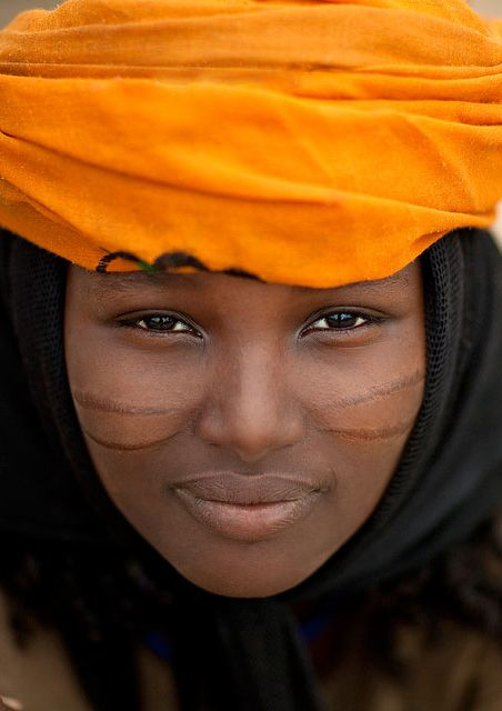 Young woman from Ethiopia