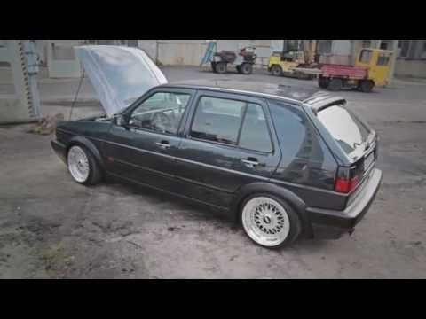Golf MK2 R32 fonik - YouTube