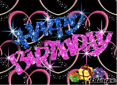 Happy Birthday Glitter Graphics For Facebook facebook glitter birth...