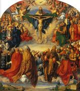 Adoration of the Trinity  by Albrecht Durer