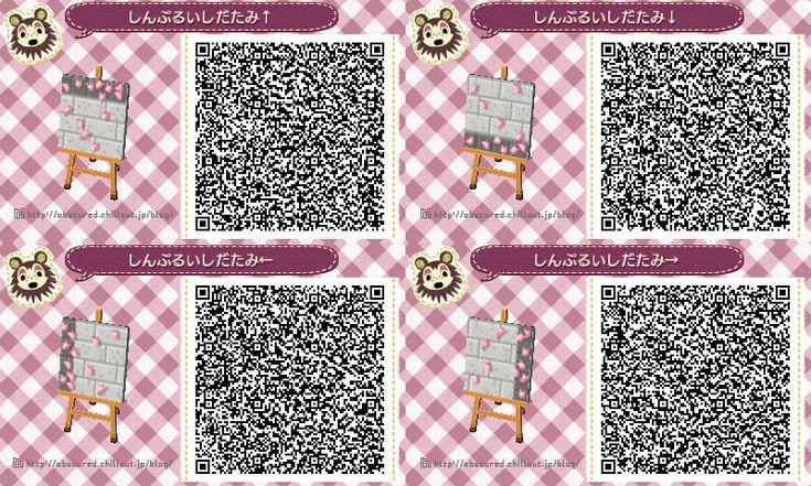 New Leaf Qr Paths Only Newleaf Fashion Cherry Blossom Petals Acnl Paths Animal Crossing Animal Crossing Qr