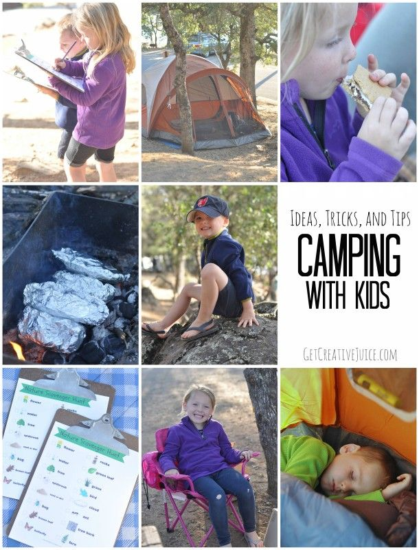 Camping With Kids Tips Tricks And Ideas For Success