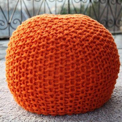 oppskrift på strikket puff | Hverdagsliv det gode liv