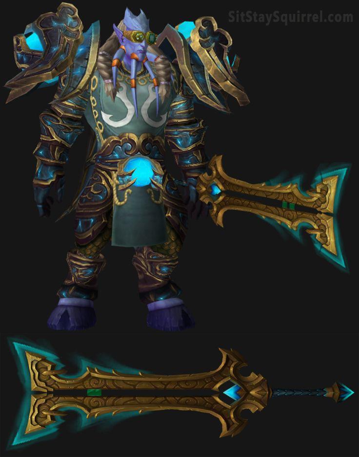 Draenei Male Arms Warrior Artifact Set