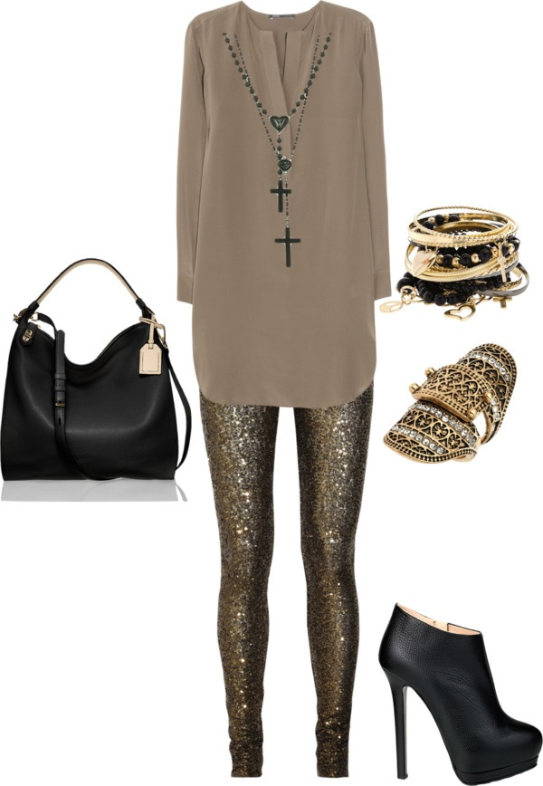 """Sequins is a Girls Best Friend"" by dnicole10-06 on Polyvore"