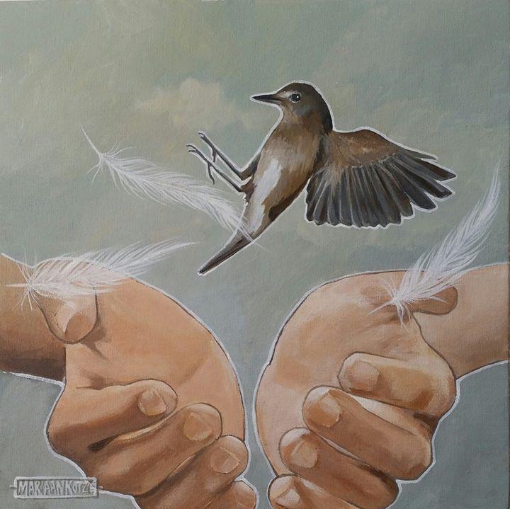 """Mariaan Kotze Art. Decor. Gifts 30x30cm  """"Catch me when I fall..."""" http://ift.tt/2dlSBdk"""