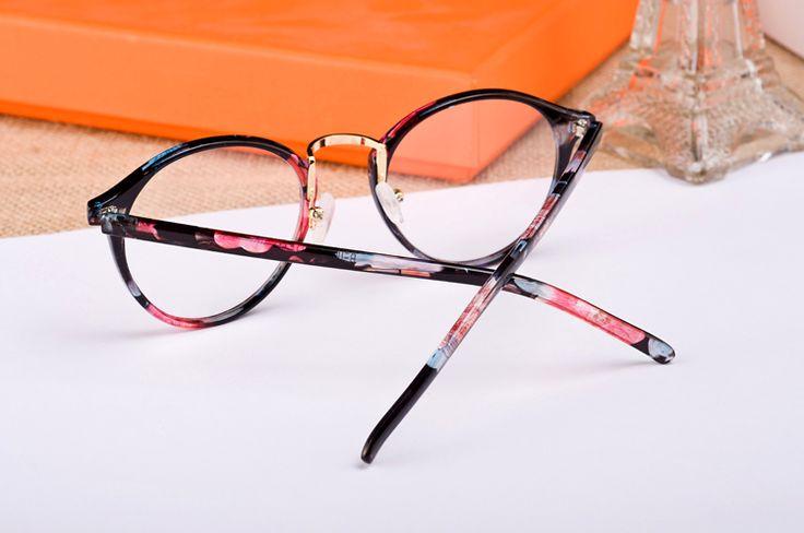 versión coreana de la retro marco de las gafas redondas de cuadro completo de marea modelos modelos masculinos y femeninos del espejo del llano puede ser equipado con gafas al por mayor - la estación de Taobao mundial