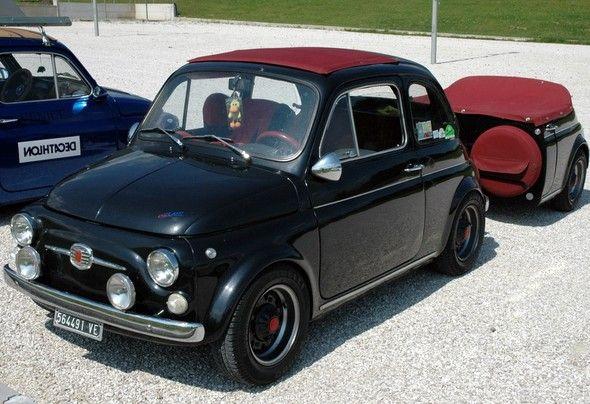 'Mitica' Fiat 500 #TuscanyAgriturismoGiratola