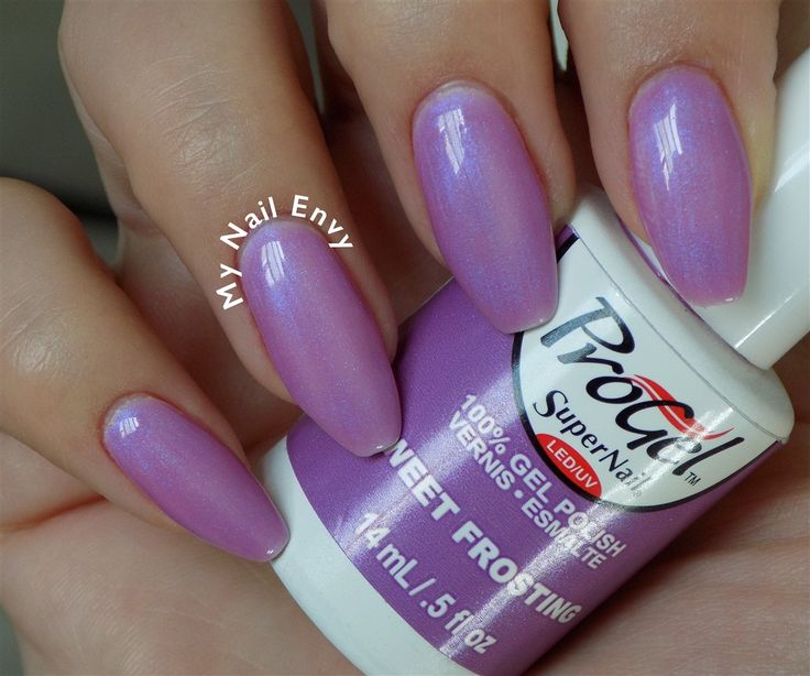 Sweet Frosting – My Nail Envy  progel, easter, purple, shimmer, soak off gel, spring, summer, swatch