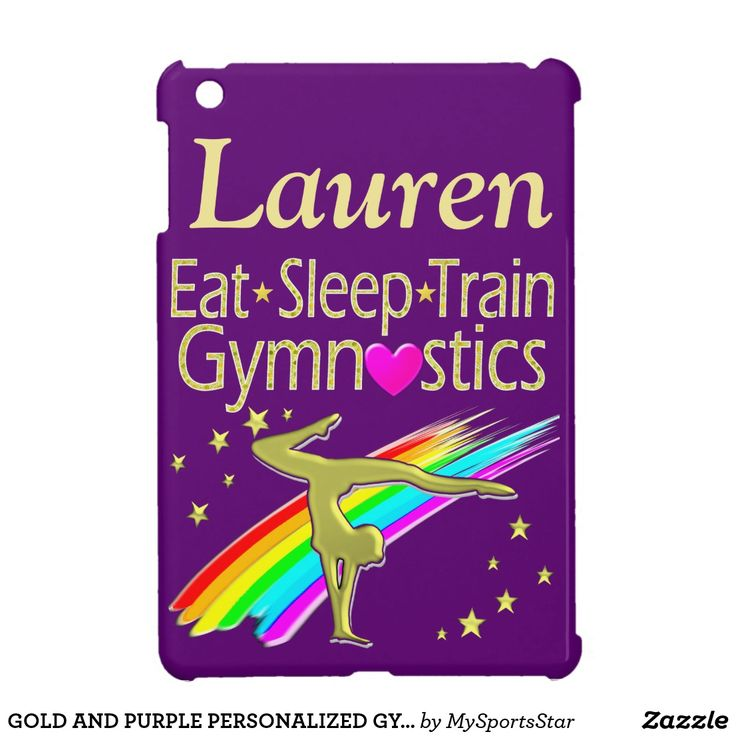 GOLD AND PURPLE PERSONALIZED GYMNAST IPAD CASE Calling all Gymnasts! Awesome personalized Gymnastics ipad cases only here at Zazzle!   https://www.zazzle.com/collections/personalized_gymnastics_ipad_cases-119064017686498323?rf=238246180177746410&CMPN=share_dclit&lang=en&social=true Gymnastics #Gymnast #WomensGymnastics #Gymnasticscase #PersonalizedGymnast