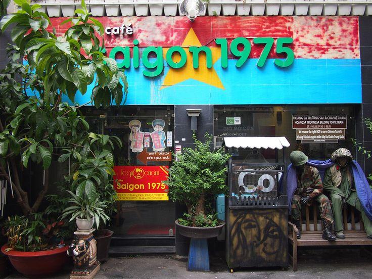 Cafe Saigon 1975 - a war memorabilia cafe in Ho Chi Minh City