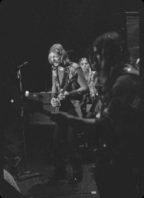 The Allman Brothers band On Stage