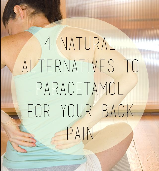 Paracetamol has been found to be ineffective for treating back pain, and has some unwanted side effects. Try these natural supplements for safe & effective back pain relief.