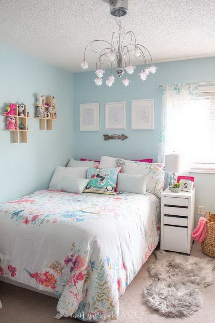 How To Decorate A Small Bedroom Small Bedroom Decor Girl Bedroom Decor Small Bedroom