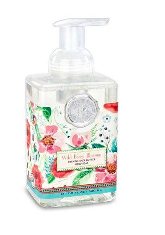 Wild Berry Blossom Foaming Soap Michel Design Works
