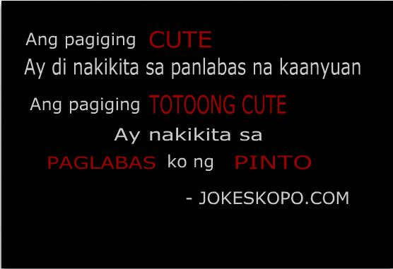 Joke Quotes Tagalog Sweet: 19 Best Images About TAGALOG - Lol On Pinterest