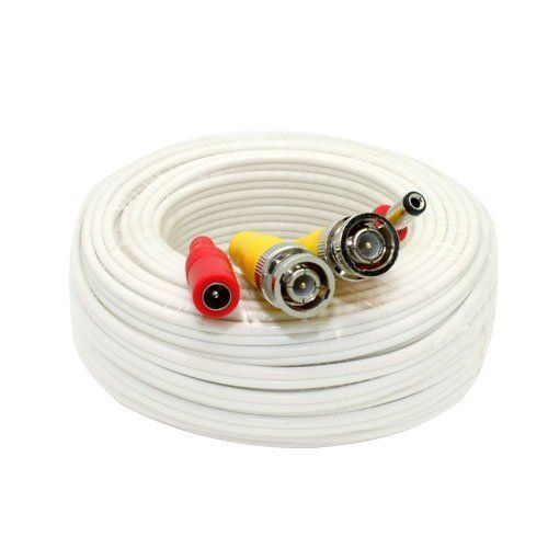 25 Feet Pre-made All-in-One BNC Video and Power Extension Cable with Connector for CCTV Security Camera (White, 25 feet) GW Security http://www.amazon.com/dp/B00LAL4W0C/ref=cm_sw_r_pi_dp_wVF7ub10R2VEP