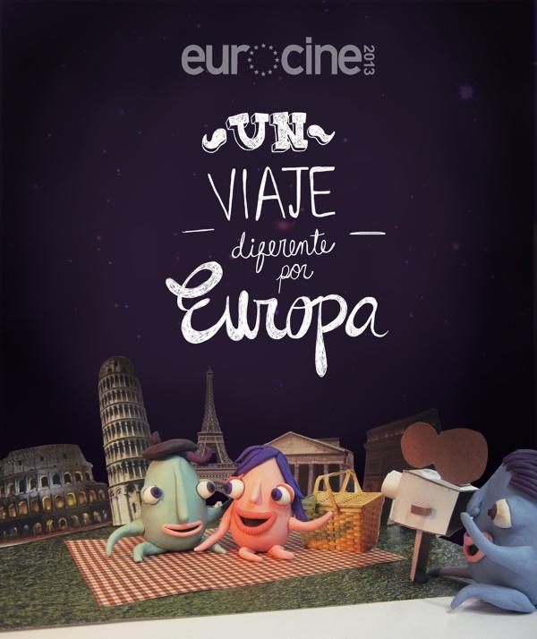Concurso Festival Eurocine 2013 by Braulia Diaz, via Behance