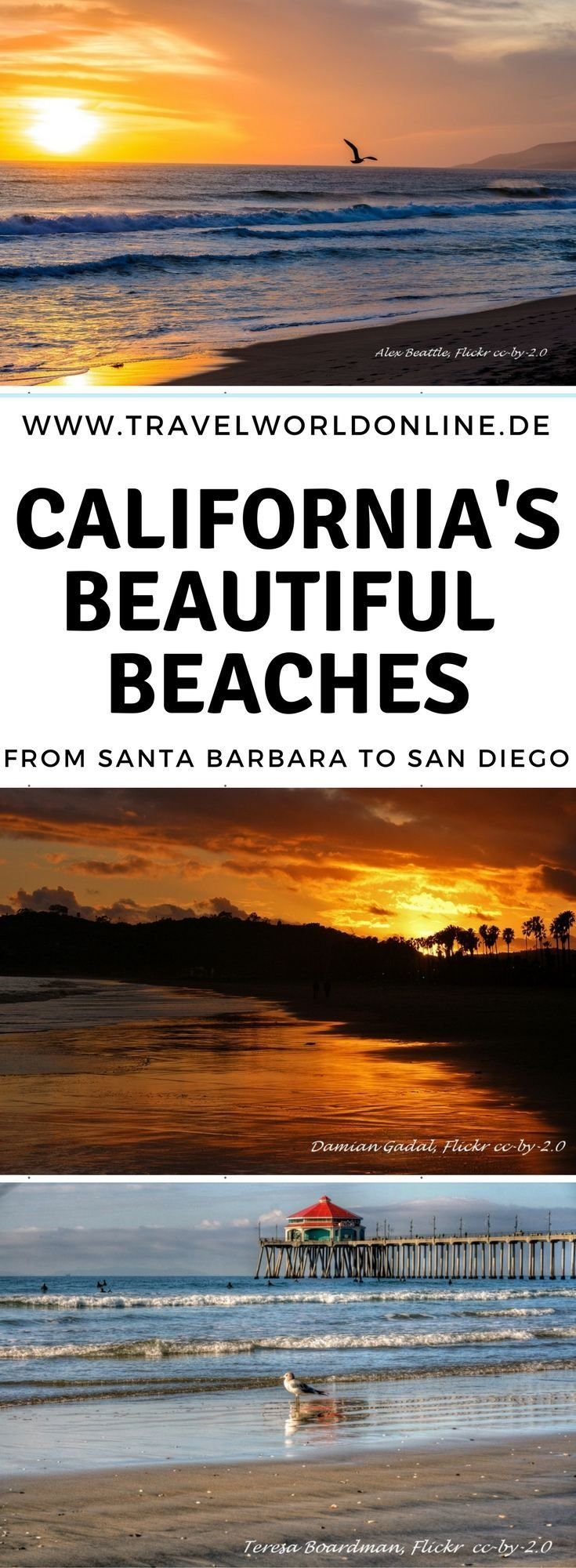 Die schönsten Strände in Kalifornien – Die Best Beaches in California