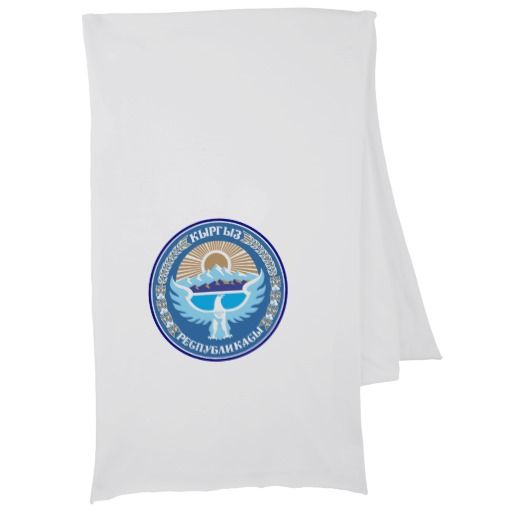 Kyrgyzstani coat of arms scarf