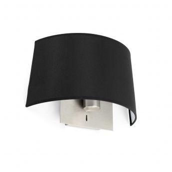 Applique VOLTA de la marque Faro sur Lumi-Design VOLTA est une collection de luminaires design signé Estudi Ribaudí pour Faro, inspirée des luminaires de chambres d'hôtel et composée dune applique, d'une applique avec lecteur LED, dune lampe de table, d'une suspension et d'un lampadaire. Avec cette collection, Faro nous propose des luminaires élégants et intemporelles au design épurés. Les finitions et les détails sont particulièrement soignés, gage d'une grande qualité.