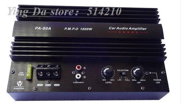 Check it out! Now available: Super Power Subwo... link: http://www.subwoofersbox.com/products/1000w-high-power-car-stereo-subwoofer-amplifier-board-with-installation-box-for-8-12-inch-speaker?utm_campaign=social_autopilot&utm_source=pin&utm_medium=pin