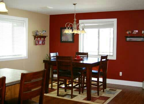 Colors dining room ideas living room red dining room - Accent colors for beige living room ...